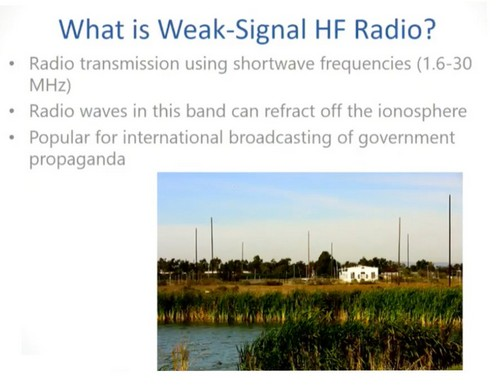 Bitcoin and Weak Frequency Signals: Bypassing Network Censorship With Radio