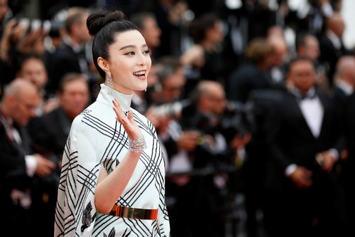 Chinese actress Fan Bingbing at the 70th Cannes Film Festival.