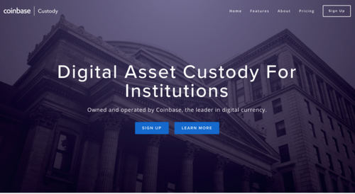 Coinbase Announce Cryptocurrency Custodianship as Institutional Money Floods In
