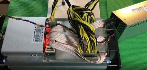 Antminer D3 plugged