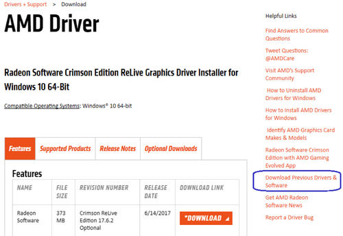 download amd drivers