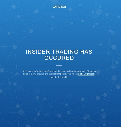 Investors Call Foul Play as Coinbase Parries Insider Trading Accusations