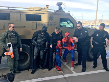 spider man 5 Year Old Is Superhero For A Day Thanks To High School Students