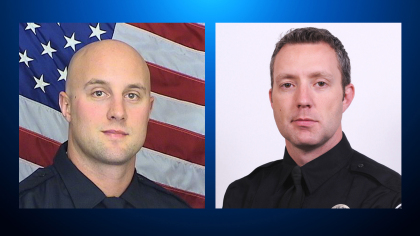 deputy jeff pelle and crpd officer thomas odonnell 7 Shot, 1 Deputy Killed In Highlands Ranch Ambush Shooting