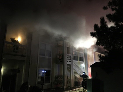 apt fire 1 Condo Fire Kills One Woman, Another Escapes