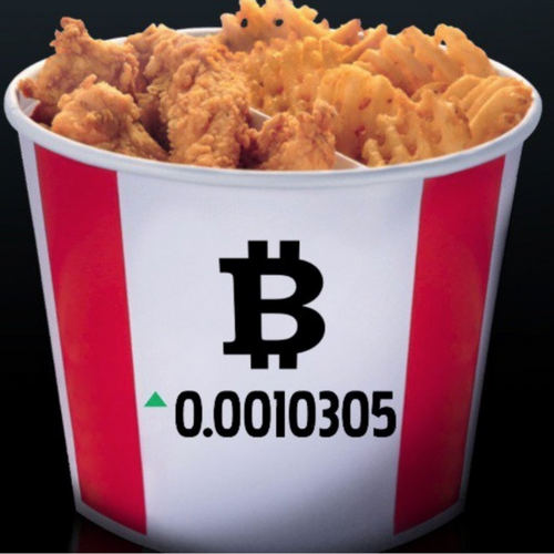 "Kentucky Fried Chicken Canada Launches ""Bitcoin Bucket"""