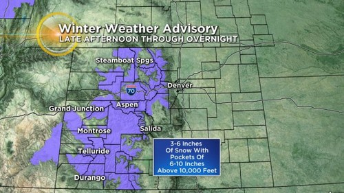 14 Latest Forecast: Finally, First Widespread Mountain Snow Since Christmas