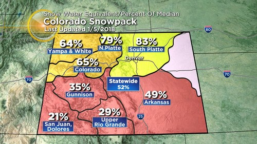 snowpack Latest Forecast: Rapid Clearing Ahead Of Bigger Storm This Week