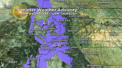 3 Latest Forecast: Storm In California Heading For Colorado Next