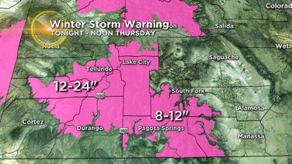 11 Latest Forecast: Storm In California Heading For Colorado Next