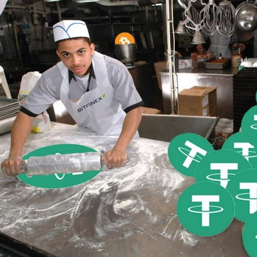 Tether Printing Press In High Gear, Issuing $400 Million in Four Days