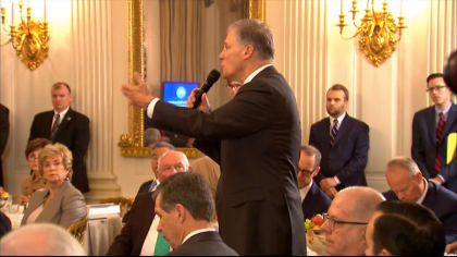 govs and gun control 5pkg transfer frame 722 Colorados Governor Joins Others For White House School Safety Talk