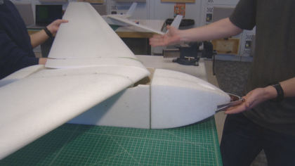 cu drone 10pkg frame 750 CU Students Design Underwater Drone To Help Study Whales