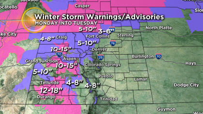 extra Difficult Mountain Driving Expected Monday For Holiday Travelers