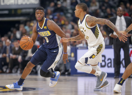 gettyimages 889913876 master Mudiay To Knicks As Nuggets Add Devin Harris In 3 Team Swap