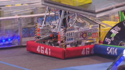 robotics competition 10pkg transfer frame 2265 Robotics Competition Could Be First Step Towards Career In Aerospace