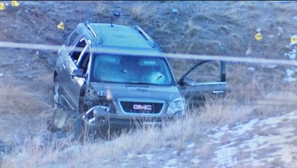 park hill crash Search For Escaped Inmate Continues