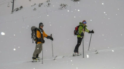 skinning 3 Summit County Couple Powers Through Winter By Skinning Uphill
