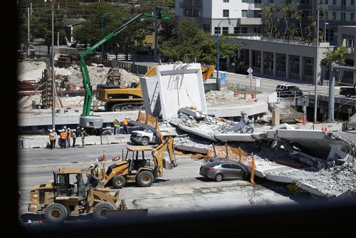 gettyimages 932883686 State Of Florida: Voicemail About Cracks 2 Days Before Bridge Fell