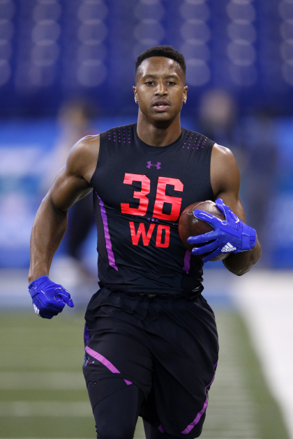 gettyimages 926795098 Broncos Select WR Courtland Sutton With 2nd Pick In NFL Draft