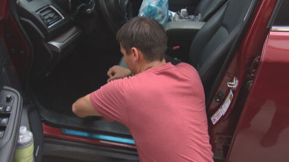 car wash ring 10pkg transfer frame 41 Complete Panic: Man Desperately Searches For Family Heirloom
