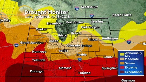 drought monitor Latest Forecast: April Ending With Record Heat, May To Start Cool & Wet
