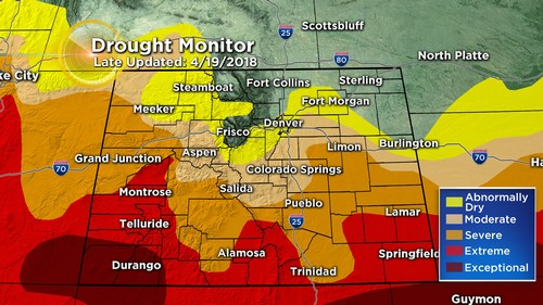 drought monitor Latest Forecast: Warming Again Quickly