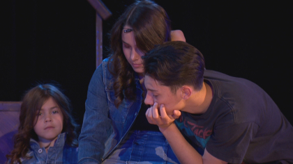 north hs rock of ages 6pkg frame 417 Schools Need Musicals: Rival Schools Team Up On Stage