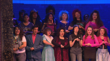 north hs rock of ages 6pkg frame 866 Schools Need Musicals: Rival Schools Team Up On Stage