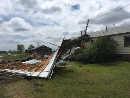 cope damage in daylight washington co emergency management 6 Eastern Plains Hit With 14 Tornadoes; 7 In Washington County