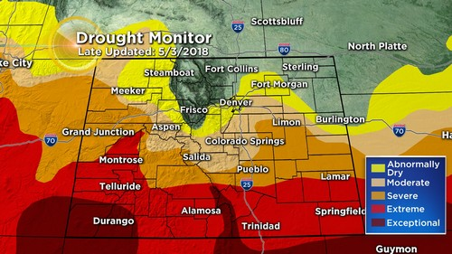 drought monitor Latest Forecast: Warming Up Daily Before Weekend Cool Down