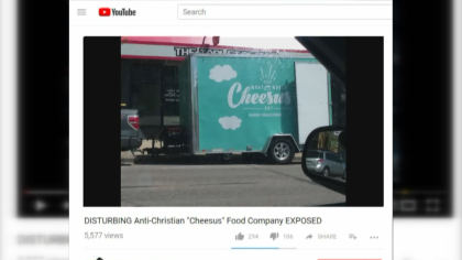 cheese truck stolen 10pkg transfer frame 1634 Womans Food Truck Stolen After She Received Threatening Messages