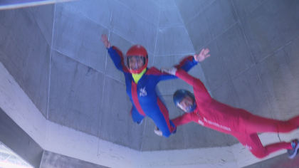 sydney flies pkg copy 01 transfer frame 2466 World Skydiving Champion From Colorado Takes Flight With CBS4