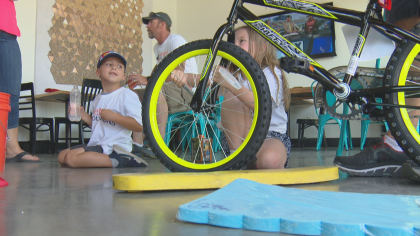 wish for wheels 5vo transfer frame 210 Colorado Company Donates Time To Build Bikes For Children In Need