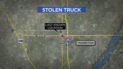 stolen pickup 10pkg transfer frame 1290 Is The Joke Over?: Security Camera Catches Thief Stealing Truck