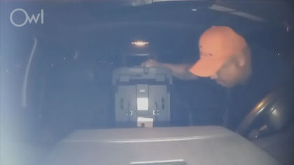 stolen pickup 10pkg transfer frame 188 Is The Joke Over?: Security Camera Catches Thief Stealing Truck
