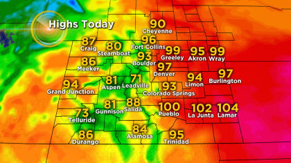 Latest Forecast: A Little Relief From The Heat Coming