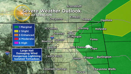 Latest Forecast: Cloudy, Cool & Wet Father's Day For Much Of Colorado