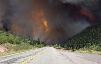 spring fire One Arrested On Arson Charge For Massive Spring Fire