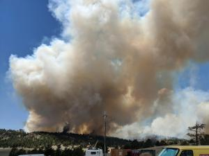 Chateau Fire Destroys 7 Homes In Teller County