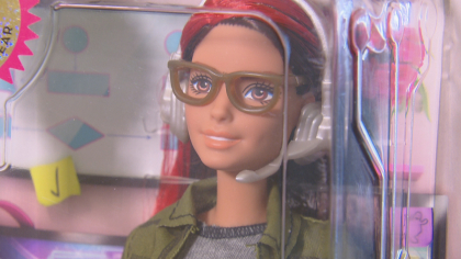 CU Professor Helping Shape Barbie's Future Image On The Job