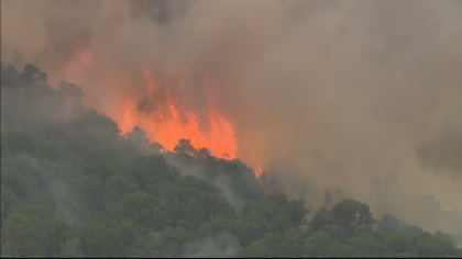 lake christine fire 10pkg transfer frame 270 Everybody Has To Be Proactive: Residents Watch Lake Christine Fire Grow