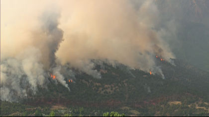 lake christine fire 10pkg transfer frame 540 Everybody Has To Be Proactive: Residents Watch Lake Christine Fire Grow