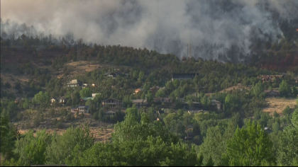 lake christine fire 10pkg transfer frame 887 Everybody Has To Be Proactive: Residents Watch Lake Christine Fire Grow
