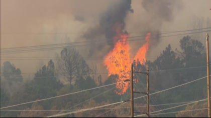 lake christine fire 10pkg transfer frame 120 Everybody Has To Be Proactive: Residents Watch Lake Christine Fire Grow
