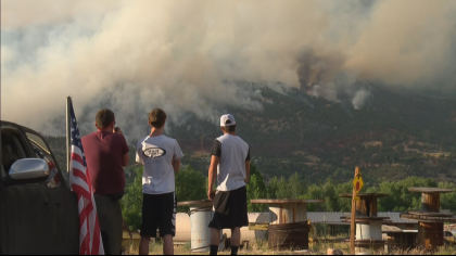 lake christine fire 10pkg transfer frame 210 Everybody Has To Be Proactive: Residents Watch Lake Christine Fire Grow