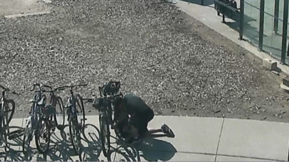 rtd bike theft intro frame 48 It Takes This Thief 20 Minutes To Steal Bike From An RTD Station