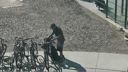 rtd bike theft intro frame 258 It Takes This Thief 20 Minutes To Steal Bike From An RTD Station