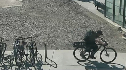 rtd bike theft intro frame 368 It Takes This Thief 20 Minutes To Steal Bike From An RTD Station