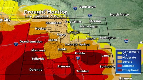 drought monitor Latest Forecast: A Hot Weekend With Late Day Storms